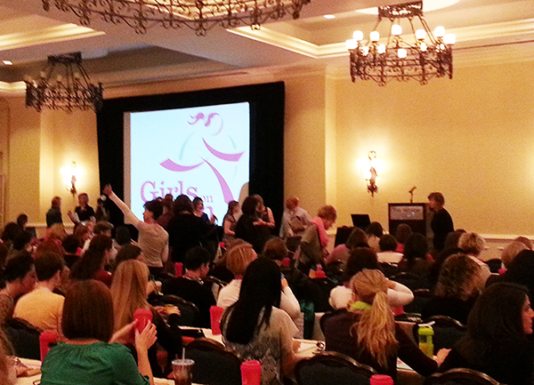 The 2014 Girls on the Run Summit kicked-off in San Antonio, Texas.
