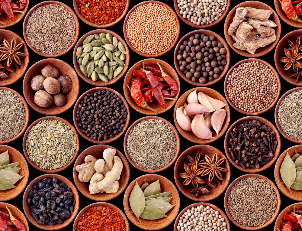 How many spices can you name?